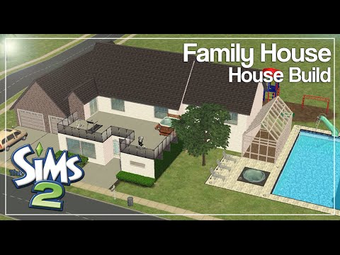 The Sims 2: House Build | Standard Family House