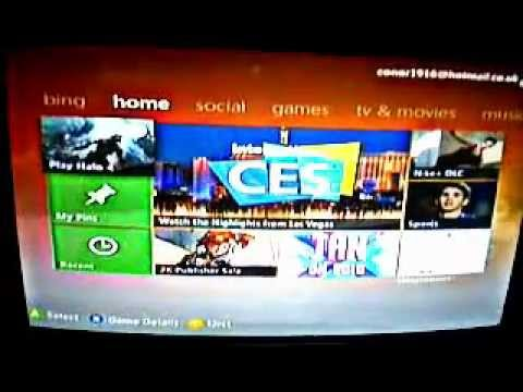 How to change my windows live ID on my xbox