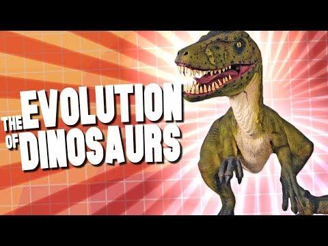 The Evolution of Dinosaurs! Jurassic Evolution Simulator! - Evolution