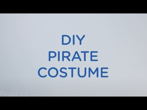 Easy Halloween Pirate Costume