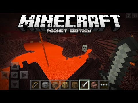 NETHER ADDED TO MCPE!!! - Nether Confirmed w/ Screenshots - Minecraft PE (Pocket Edition)