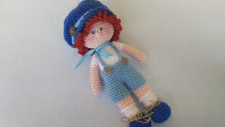 Bebè Amigurumi Bomboniera Tutorial Uncinetto - Muñeca Crochet ... | 180x320