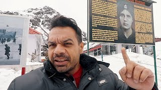 A Dead(martyr) Soldier still on Duty. शहीद की आत्मा देती हैं पहरा