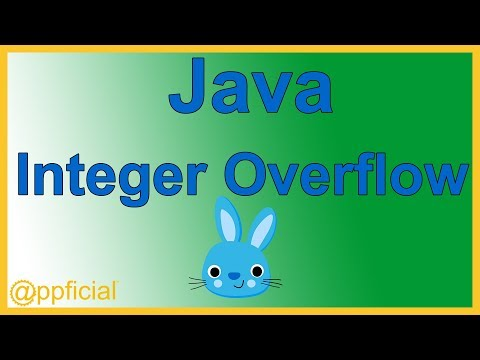 Java Integer Overflow Problem Explained by Example - Java Tutorial - Appficial
