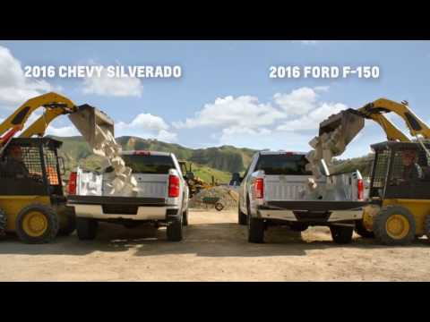 Phillips Chevrolet - Chevy Silverado vs. Ford F-150 Truck Beds - Chicago New Car Dealership