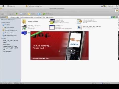 How to Flash Nokia Phones 5800/5230/5233/5250