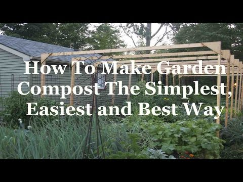 How To Make Garden Compost The Simplest, Easiest and Best Way
