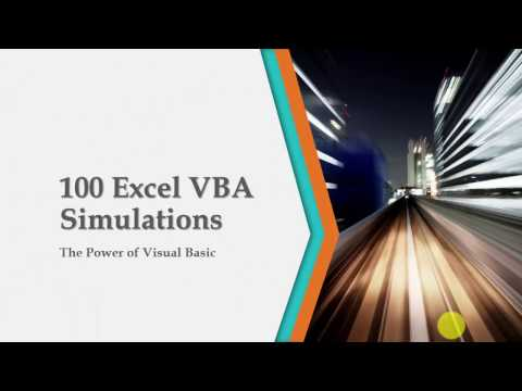 100 Excel Simulations with VBA