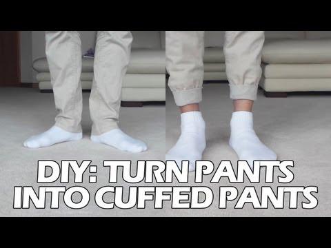 DIY: Turn Pants into