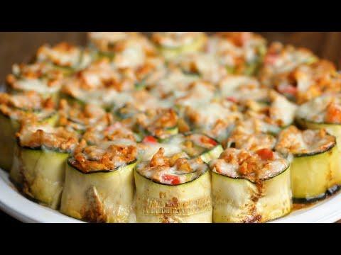 Zucchini Enchilada Roll-Ups