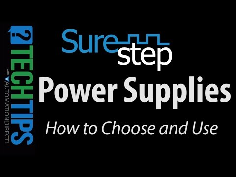 Tech Tip: How to Choose and Use Stepper Motor Power Supplies
