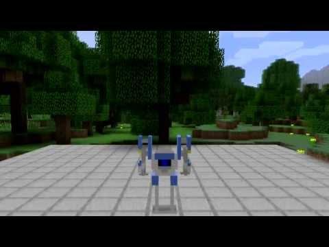 Portal 2 Atlas Minecraft Skin Spotlight
