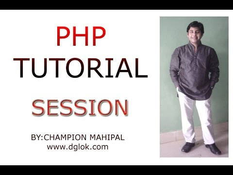 Learn PHP Tutorial 35 Using Session setting Session variable and retrieve value of Session Variable