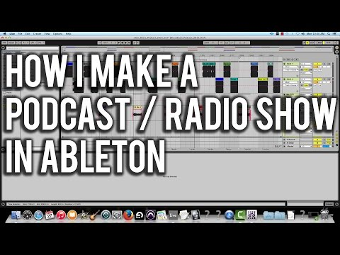 How Do I Make My Own Podcast With Ableton