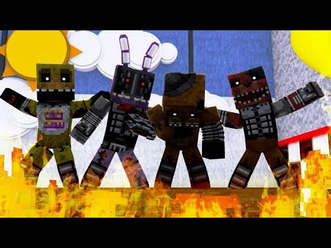 Minecraft Fnaf: Ignited Animatronics (Minecraft Roleplay)
