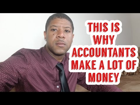This is Why Accountants Make A Lot of Money! Bachelor's degree in Accounting