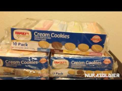 Storing 300 Cookies Longterm for $5 - SHTF Cookies for Cheap