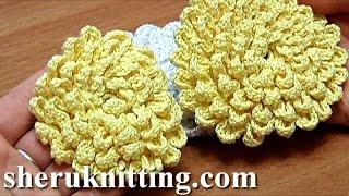 Rose Häkeln Anleitung Crochet Rose Eng Sub