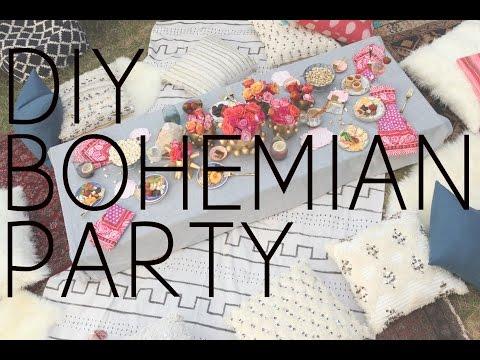 DIY Bohemian Party
