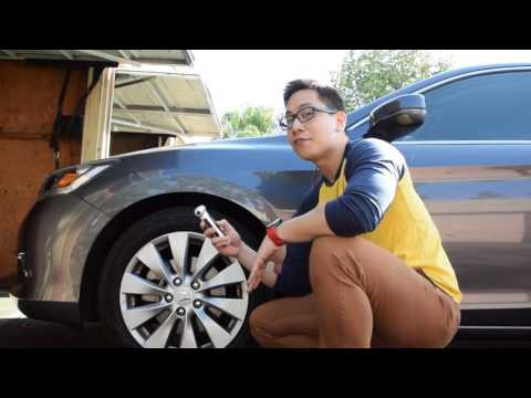 How to use the T1 Digital Tire Pressure Gauge / Car Escape Tool. Programmable Functions Explained