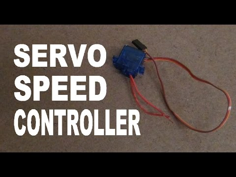How To Turn A Servo Into A Speed Controller!!! Super Simple!!!