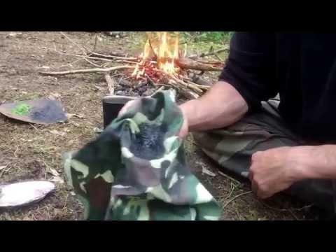 Making a Primitive Soap for Survival hygiene