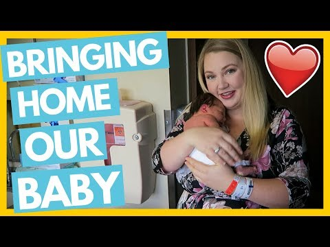 Bringing Home Our Newborn Baby From the Hospital ❤️ First Time Parents
