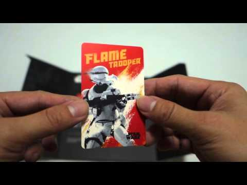 Star Wars Ezlink First Order Series Limited Edition Card Unbox Review