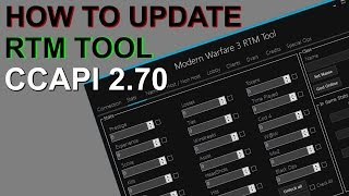 How To Update RTM Tools to work with 2 70 Ccapi | Music Jinni