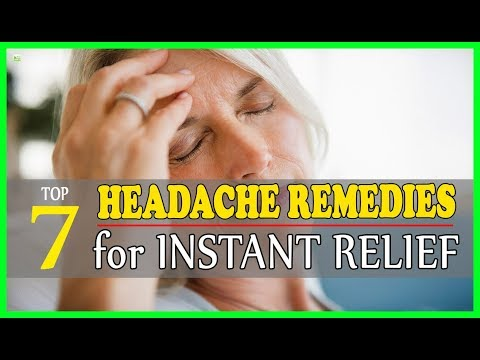 7 Natural Headache Remedies For Instant Relief - How To Get Rid Of Headache? | Best Home Remedies