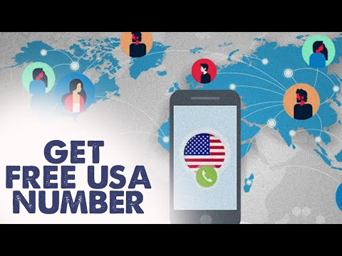 How to get a USA Mobile number FREE