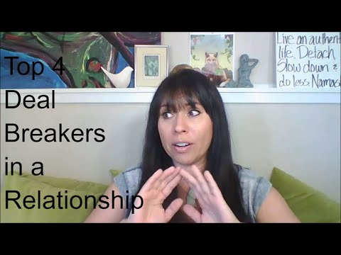What are Normal Deal Breakers in a Relationship?
