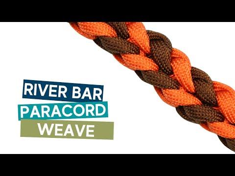 RIVER BAR WEAVE PARACORD TUTORIAL