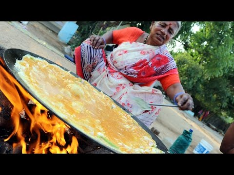 Grandma's Egg Omelette || How To Cook Egg Omelette By Our Granny || Desi Kitchen