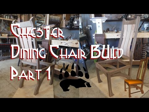 Chester Dining Chairs Build Part 1