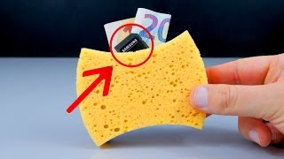 Download HOMEMADE EXPERIMENTS | 3 Incredible TRICKS TO HIDE MONEY at HOME Video