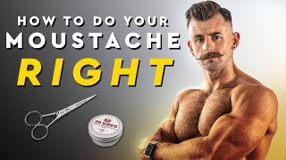 How To Cut and Style Your Mustache For #Movember