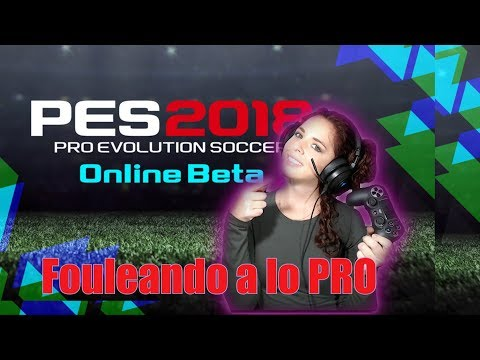 PES  2018 GAMEPLAY (Reaccionando + Top 5 BEST BETA Online Playstation 4 (PS4)- Pro evolution Soccer