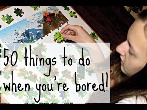 50 Things to do When You're Bored! | Comedy Video