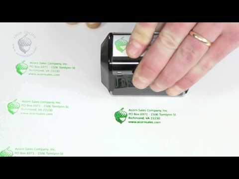 Helpful Tips of Using Pre-Inked Stamps - Acorn Sales
