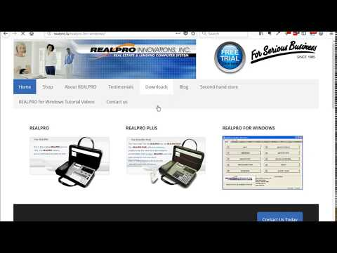Install REALPRO for Windows Update