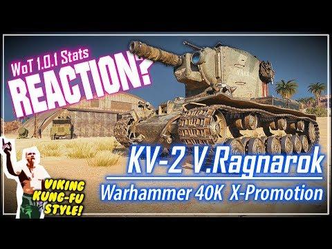 REACTION? KV-2 Valhallan Ragnarok Stats || World of Tanks