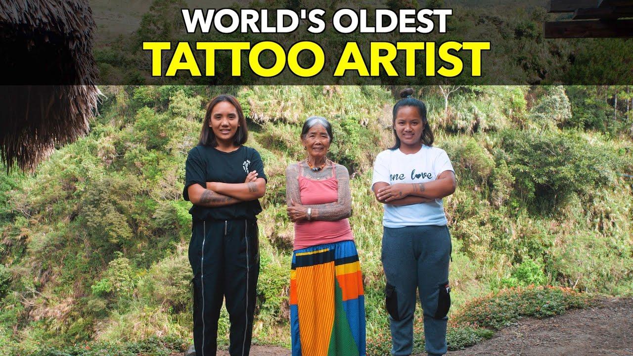 World's Oldest Tattoo Artist