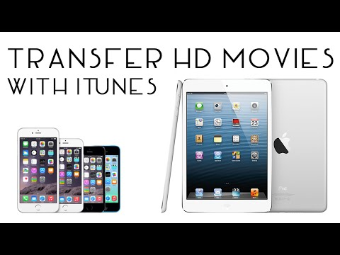 Transfer HD Movies to iPhone/iPad/iPod With iTunes