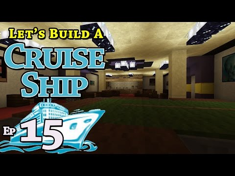 How To Build A Cruise Ship :: Minecraft :: E15 :: Z One N Only