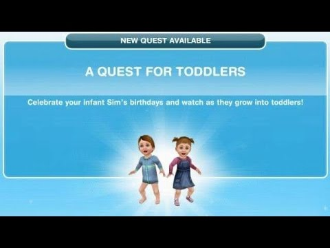 [The Sims Freeplay] - A Quest For Toddlers Görevi