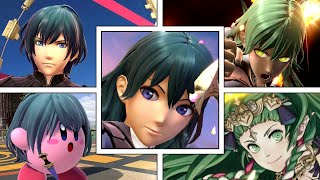 Byleth Full Moveset (Plus Final Smash, Victory Screens, Kirby Hat & More) Smash Bros Ultimate
