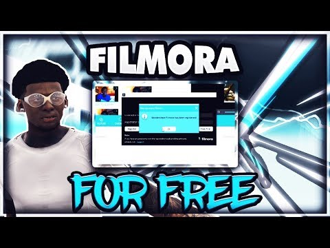 HOW TO GET WONDERSHARE FILMORA FOR FREE [NO WATERMARK] | *WORKS 2017*
