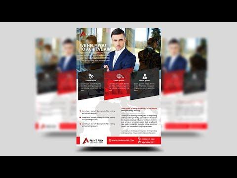 Creative Corporate Business Flyer | Photoshop Tutorial