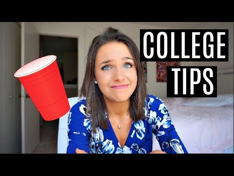 MY TIPS FOR THE FIRST DAY/WEEK OF COLLEGE